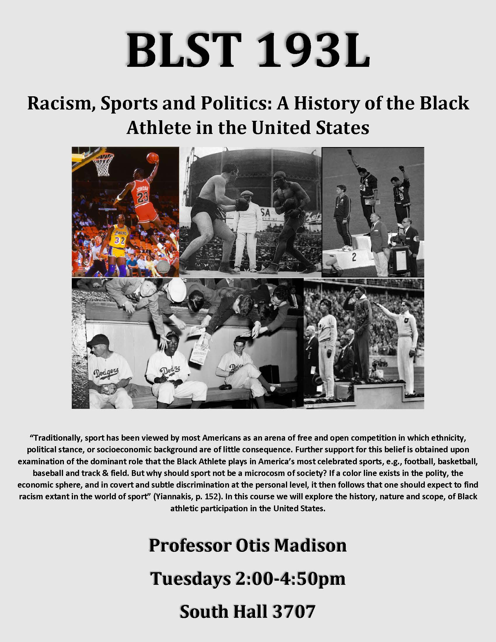 discrimination and racism in sports essays